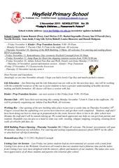 newsletter 2 11 2011