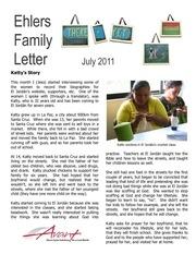 ehlers family letter july 2011