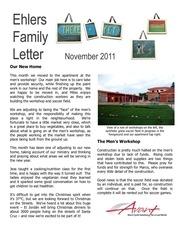 ehlers family letter nov 2011