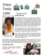 ehlers family letter oct 2011