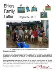ehlers family letter sep 2011