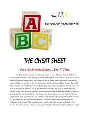 PDF Document cheat sheet