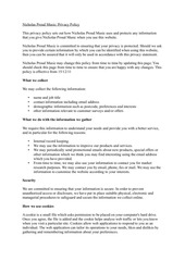 privacy policy dec 2011