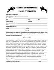 rider liability pdf