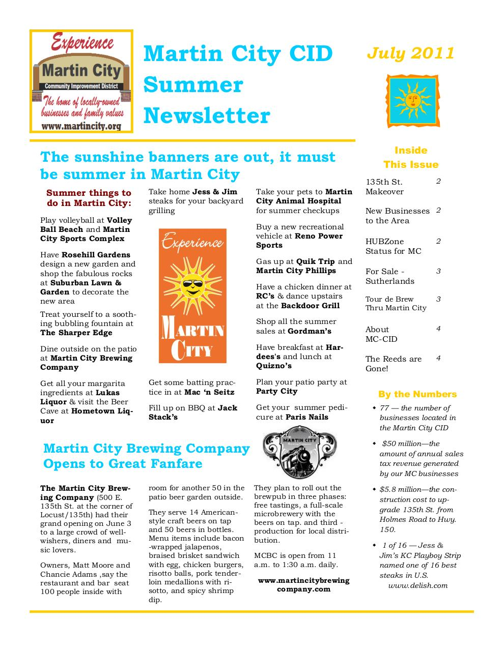 Newsletter - Summer2011.pdf - page 1/4