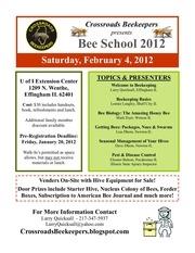 2012 bee school flyer 1
