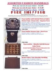 PDF Document assorted fashion handbags