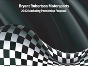 b robertson 2012 marketing proposal