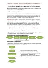 PDF Document fundamentos de logica de programao segundo rogerio de moraes