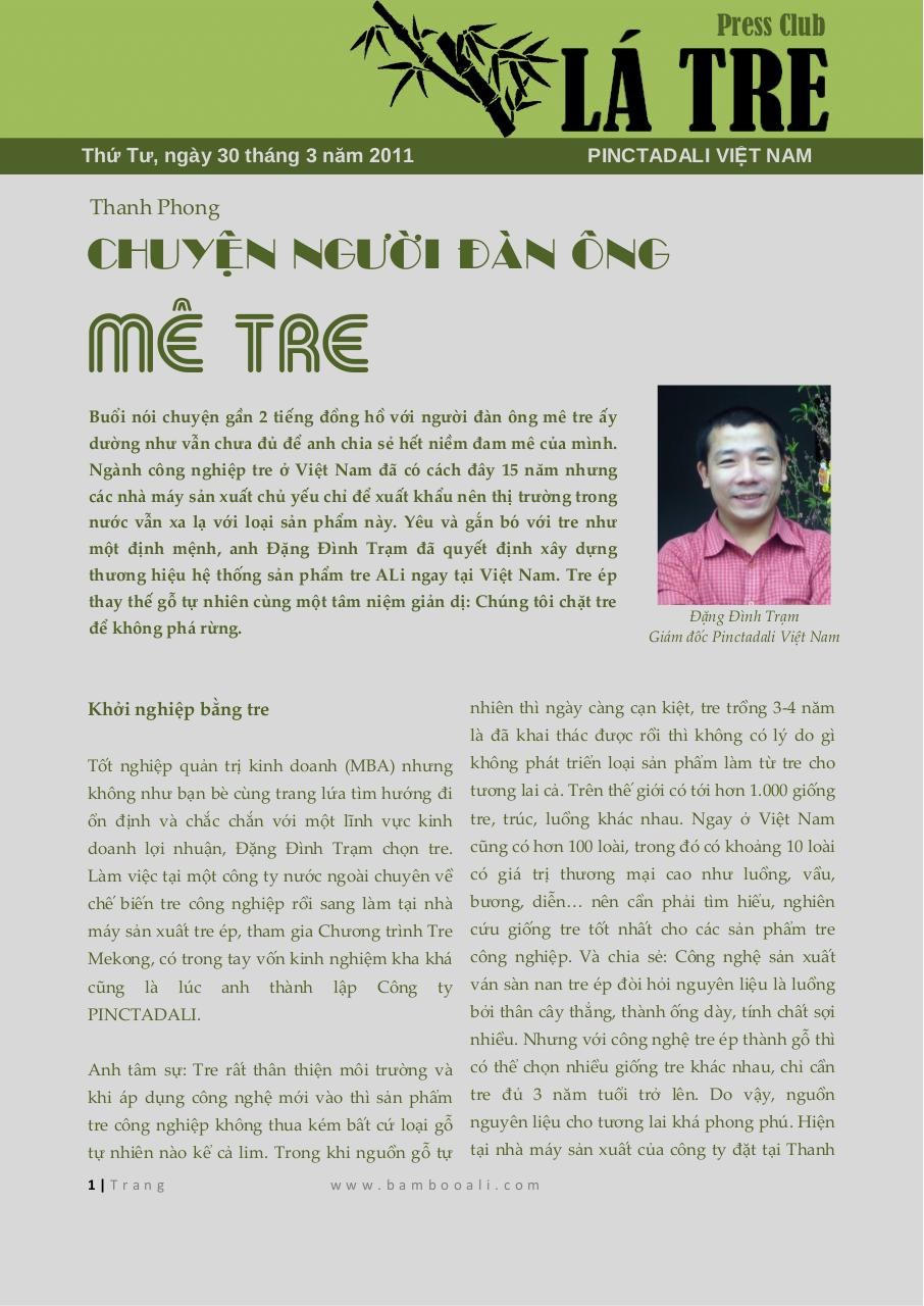Document preview 20110330. Chuyen nguoi dan ong me tre.pdf - page 1/3