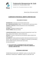 campeonato bonaerense apertura 2012