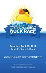 duck race sponsor packet