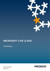 PDF Document handleiding live edu