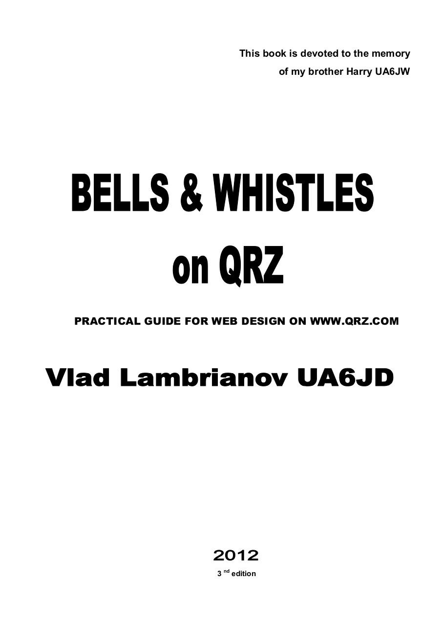Bells&Whistles_on_QRZ.pdf - page 2/149