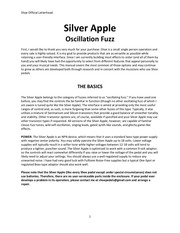 shoe silver apple manual
