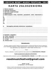 karta zg oszeniowa restemusicfestival 2012