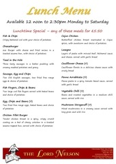 lunch menu web