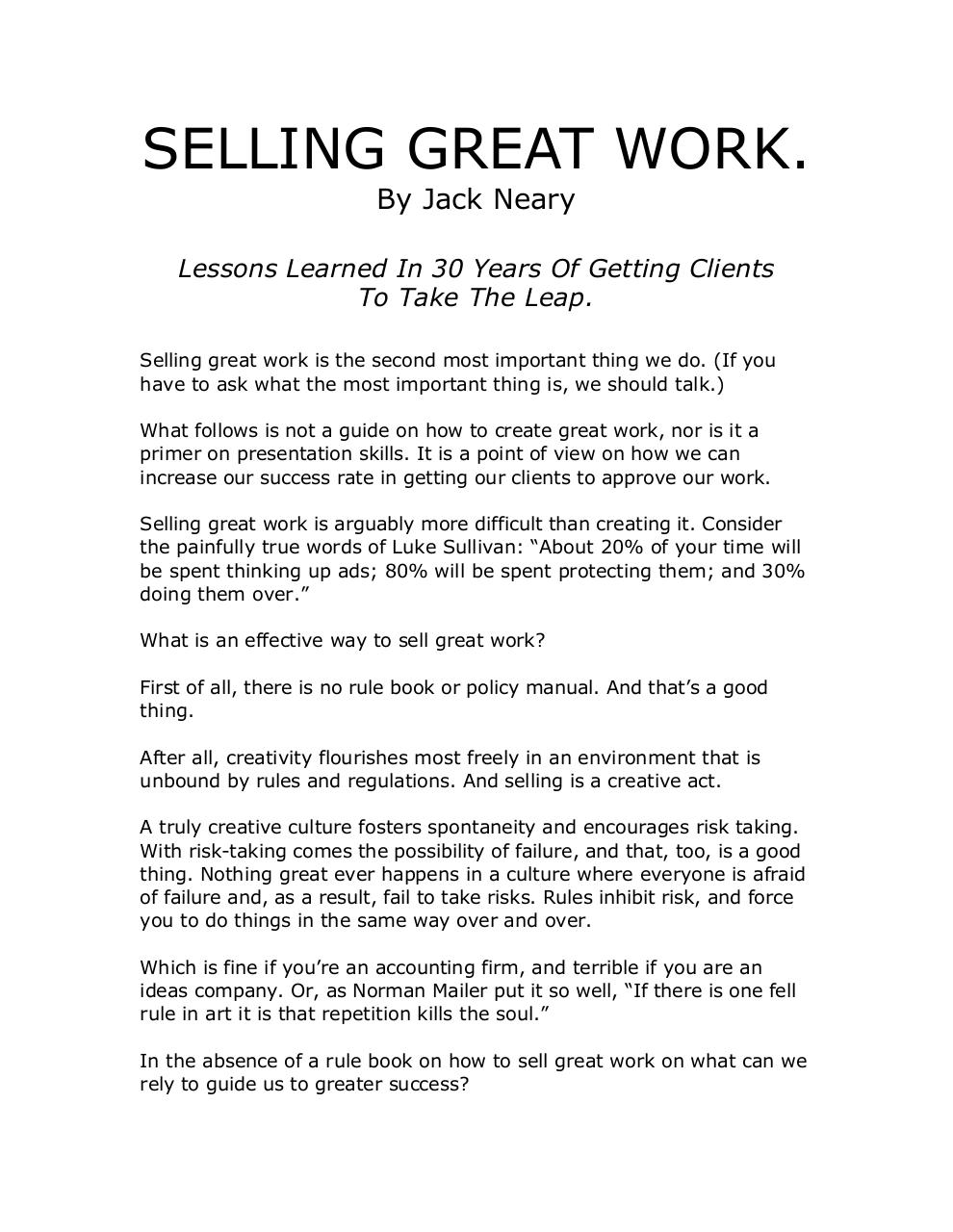 Selling Great Work.pdf - page 1/9