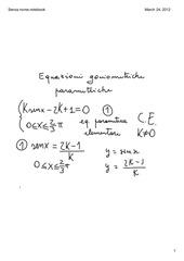 PDF Document equazioni parametriche