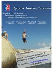 summer spanish flyer
