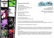 PDF Document price list 2012