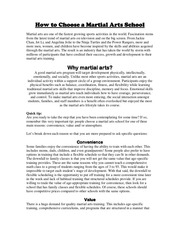 PDF Document how to choose a martial arts school