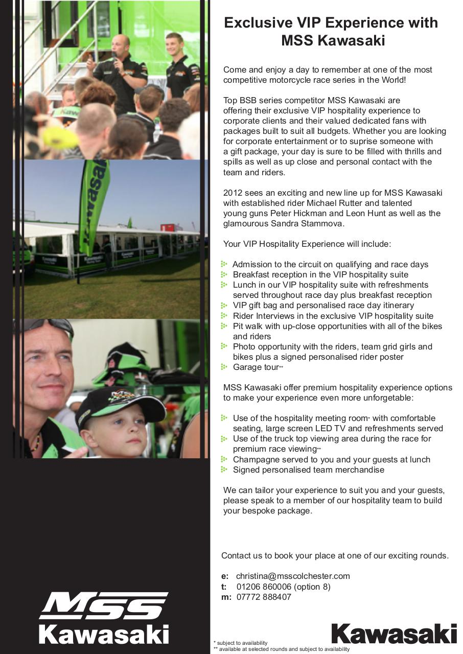 Document preview VIP Hospitality Flyer.pdf - page 1/1