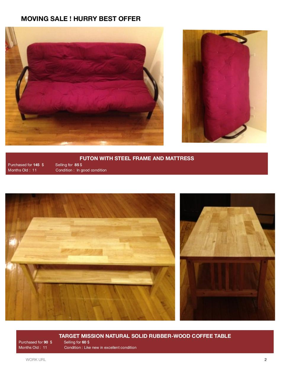 Document preview Selling Furnitures PDF.pdf - page 2/3