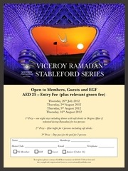 viceroy ramadan stableford series