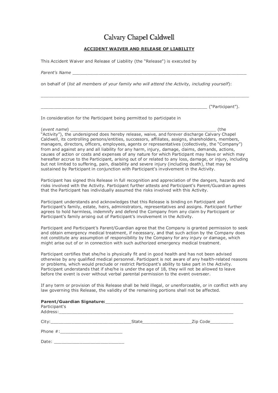 Document preview ReleaseofLiabilityWaiverCCOC.pdf - page 1/1