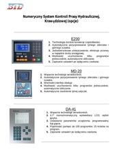 numeryczny system kontroli prasy hydraulicznej 2