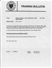 vandalia police bulletin 12 06 with letter