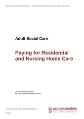 adult social care paying for residential and nursing home care jun11