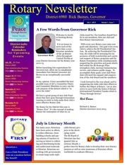 district newsletter july revised