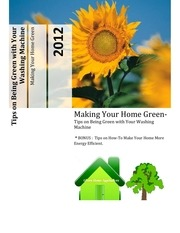 PDF Document how to be green with your washing machine