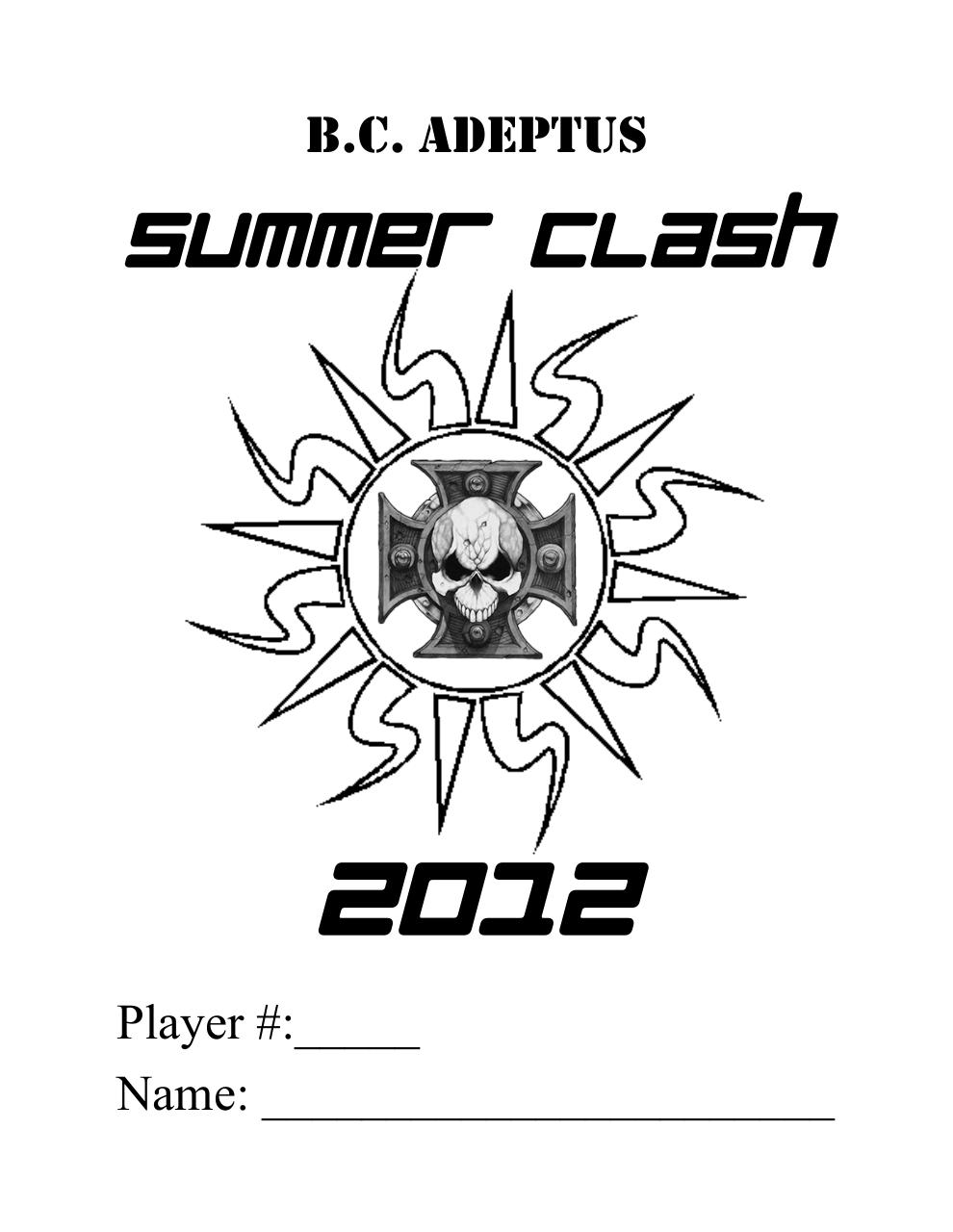 Document preview Summer clash 2012.pdf - page 1/5
