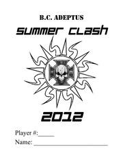 summer clash 2012