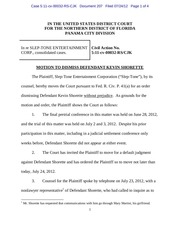 panama 207 motion to dismiss defendant kevin shorette