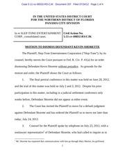 panama 207 motion to dismiss defendant kevin shorette