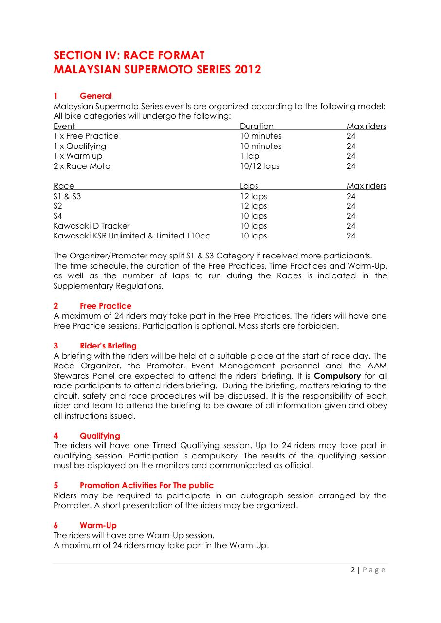 Preview of PDF document rules-regulation-for-malaysian-supermoto-series-2012.pdf