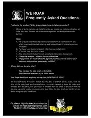PDF Document we roar faq revised2