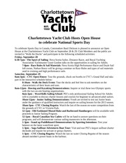 charlottetown yacht club hosts open house