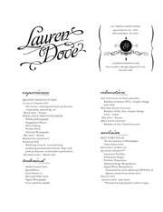dove lauren resume