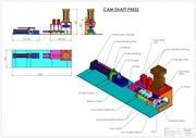 cam shaft press