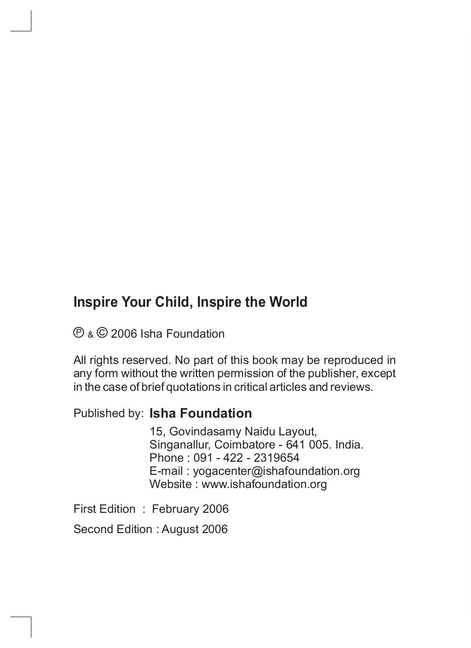 Inspire Your Child-Sadhguru.pdf - page 4/52