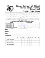 PDF Document t shirt order form