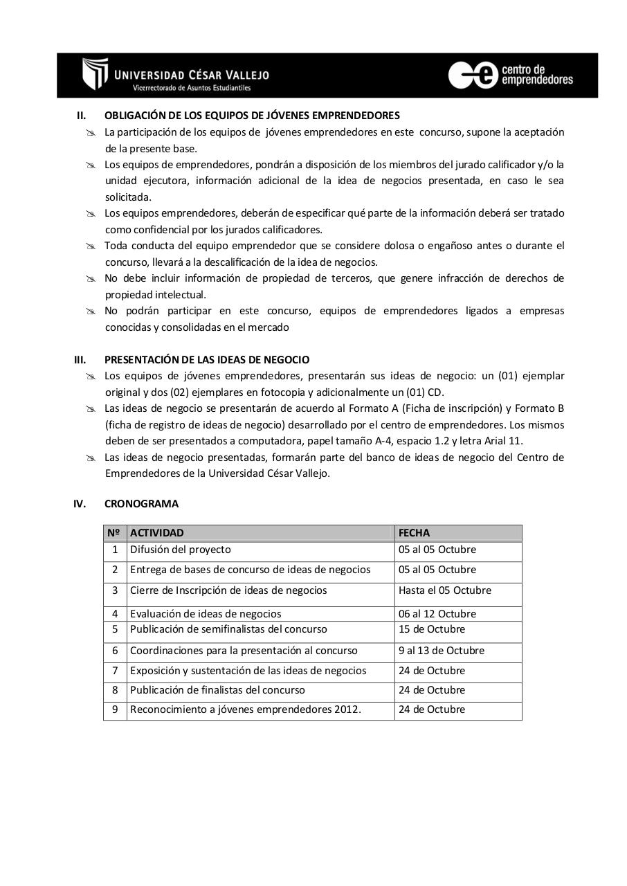 Document preview BASES DEL CONCURSO-2012 - EGRESADOS.pdf - page 2/4