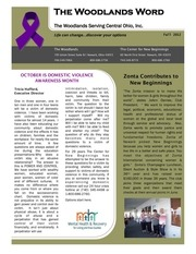 the woodlands newsletter fall2012