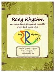 raagrhythm2012 brochure