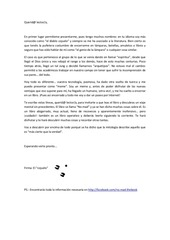 carta de invitaci n